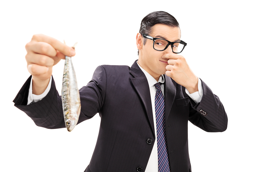 Why content must avoid advertorial territory for Stinky fish in a can