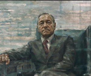 Kevin Spacey as President Francis J. Underwood, by Jonathan Yeo; Smithsonian, National Portrait Gallery""
